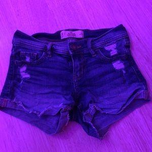 short ripped shorts